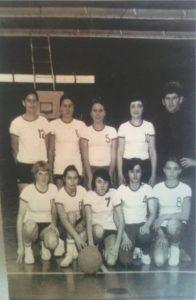 Cadettes championnes de Champagne 1970-1971